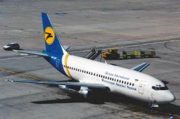 菊池 正人さんが、フランクフルト国際空港で撮影したウクライナ国際航空 737-247/Advの航空フォト(飛行機 写真・画像)