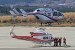 西風さんが、大館能代空港で撮影した秋田県消防防災航空隊 BK117C-2の航空フォト(写真)