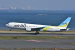 よしポンさんが、羽田空港で撮影したAIR DO 767-33A/ERの航空フォト(写真)
