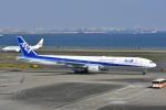 よしポンさんが、羽田空港で撮影した全日空 777-381の航空フォト(写真)