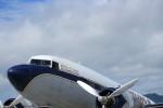 山猿さんが、岩国空港で撮影したスーパーコンステレーション飛行協会 DC-3Aの航空フォト(写真)