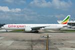 Tomo-Papaさんが、ワシントン・ダレス国際空港で撮影したエチオピア航空 777-360/ERの航空フォト(写真)