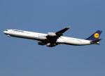 voyagerさんが、羽田空港で撮影したルフトハンザドイツ航空 A340-642の航空フォト(飛行機 写真・画像)