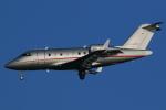AkilaYさんが、羽田空港で撮影したビスタジェット CL-600-2B16 Challenger 605の航空フォト(写真)