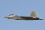 はっし~さんが、ソウル空軍基地で撮影したアメリカ空軍 F-22A-30-LM Raptorの航空フォト(写真)