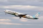 AkiChup0nさんが、羽田空港で撮影したAIR DO 767-381の航空フォト(写真)