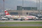 pringlesさんが、チューリッヒ空港で撮影したスイスインターナショナルエアラインズ BD-500-1A11 CSeries CS300の航空フォト(写真)