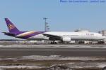 いおりさんが、新千歳空港で撮影したタイ国際航空 777-3D7の航空フォト(写真)
