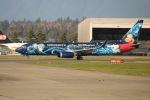 YVR777-300ERさんが、バンクーバー国際空港で撮影したウェストジェット 737-8CTの航空フォト(写真)