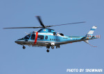 snowmanさんが、名古屋飛行場で撮影した群馬県警察 A109E Powerの航空フォト(写真)