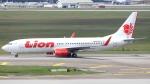 誘喜さんが、クアラルンプール国際空港で撮影したライオン・エア 737-8GPの航空フォト(写真)