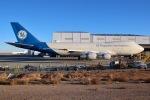 JRF spotterさんが、サザンカリフォルニアロジステクス空港で撮影したゼネラル・エレクトリック 747-121の航空フォト(写真)