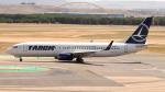 誘喜さんが、マドリード・バラハス国際空港で撮影したタロム航空 737-82Rの航空フォト(写真)