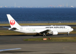 voyagerさんが、羽田空港で撮影した日本航空 767-346の航空フォト(飛行機 写真・画像)