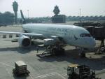 flyingmasさんが、香港国際空港で撮影したキャセイパシフィック航空 A350-941XWBの航空フォト(写真)