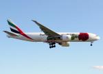 voyagerさんが、ロンドン・ヒースロー空港で撮影したエミレーツ航空 777-F1Hの航空フォト(飛行機 写真・画像)