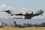 camelliaさんが、横田基地で撮影したアメリカ空軍 C-17A Globemaster IIIの航空フォト(写真)
