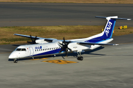 Joshuaさんが、中部国際空港で撮影したANAウイングス DHC-8-402Q Dash 8の航空フォト(写真)