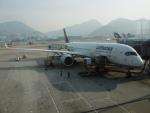 flyingmasさんが、香港国際空港で撮影したルフトハンザドイツ航空 A350-941XWBの航空フォト(写真)
