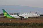 幹ポタさんが、佐賀空港で撮影した春秋航空日本 737-86Nの航空フォト(写真)