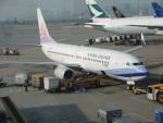 flyingmasさんが、香港国際空港で撮影したチャイナエアライン 737-8ALの航空フォト(写真)