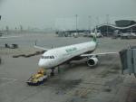 flyingmasさんが、香港国際空港で撮影したエバー航空 A321-211の航空フォト(写真)
