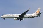 ★azusa★さんが、シンガポール・チャンギ国際空港で撮影したミャンマー・ナショナル・エアウェイズ 737-86Nの航空フォト(写真)