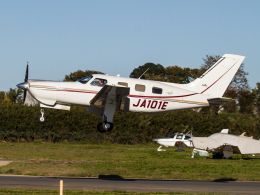 Mame @ TYOさんが、ホンダエアポートで撮影した日本法人所有 PA-46-350P Malibu Mirageの航空フォト(写真)