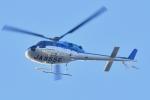 500さんが、自宅上空で撮影したエクセル航空 AS355N Ecureuil 2の航空フォト(飛行機 写真・画像)