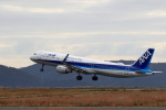 Lucky Manさんが、岡山空港で撮影した全日空 A321-211の航空フォト(写真)