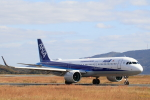 Lucky Manさんが、岡山空港で撮影した全日空 A321-272Nの航空フォト(写真)