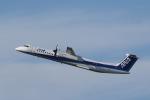 カンクンさんが、福岡空港で撮影したANAウイングス DHC-8-402Q Dash 8の航空フォト(写真)