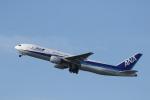 カンクンさんが、福岡空港で撮影した全日空 777-281/ERの航空フォト(写真)