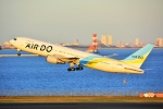 HISAHIさんが、羽田空港で撮影したAIR DO 767-33A/ERの航空フォト(写真)