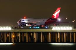 多摩川崎2Kさんが、羽田空港で撮影したカンタス航空 747-438/ERの航空フォト(飛行機 写真・画像)