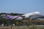 カンクンさんが、福岡空港で撮影したタイ国際航空 A330-343Xの航空フォト(写真)