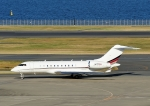 じーく。さんが、羽田空港で撮影したNJI SALES INC BD-700-1A11 Global 5000の航空フォト(飛行機 写真・画像)