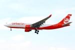 on-chanさんが、フランクフルト国際空港で撮影したエア・ベルリン A330-223の航空フォト(写真)