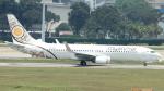 誘喜さんが、シンガポール・チャンギ国際空港で撮影したミャンマー・ナショナル・エアウェイズ 737-86Nの航空フォト(写真)