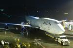 まったり屋さんが、成田国際空港で撮影したデルタ航空 747-451の航空フォト(写真)