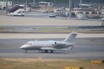 msrwさんが、羽田空港で撮影したビスタジェット CL-600-2B16 Challenger 605の航空フォト(写真)