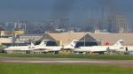 dianaさんが、台北松山空港で撮影した華捷商務航空 BD-700-1A10 Global Expressの航空フォト(写真)