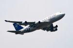 まいけるさんが、スワンナプーム国際空港で撮影したチャイナエアライン 747-409の航空フォト(写真)
