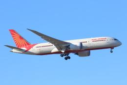 安芸あすかさんが、成田国際空港で撮影したエア・インディア 787-8 Dreamlinerの航空フォト(写真)