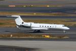 たまさんが、羽田空港で撮影した一方集団 G-V-SP Gulfstream G550の航空フォト(写真)