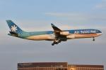 よしポンさんが、成田国際空港で撮影したエア・タヒチ・ヌイ A340-313Xの航空フォト(写真)