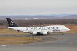 じゃりんこさんが、新千歳空港で撮影したタイ国際航空 747-4D7の航空フォト(写真)