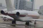 うすさんが、関西国際空港で撮影したビスタジェット BD-700-1A10 Global 6000の航空フォト(写真)