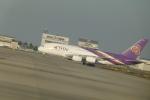 うすさんが、関西国際空港で撮影したタイ国際航空 A380-841の航空フォト(写真)