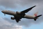 木人さんが、成田国際空港で撮影した日本航空 777-246/ERの航空フォト(写真)